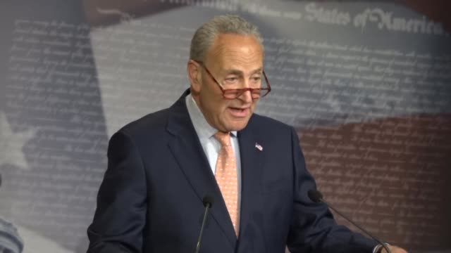senate democrat leader charles schumer says neither side wants a continuing resolution to fund government into fiscal 2020 and thank god a two-year... - middle class stock videos & royalty-free footage