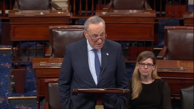 Senate Democratic Leader Charles Schumer says that the election of Democrat Doug Jones was a clarion call for bipartisanship that to rush such a huge...