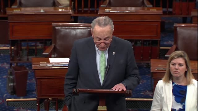 Senate Democratic leader Chuck Schumer says after Huawei CFO Meng Wanzhou was arrested in Canada for extradition to the United States that the Trump...
