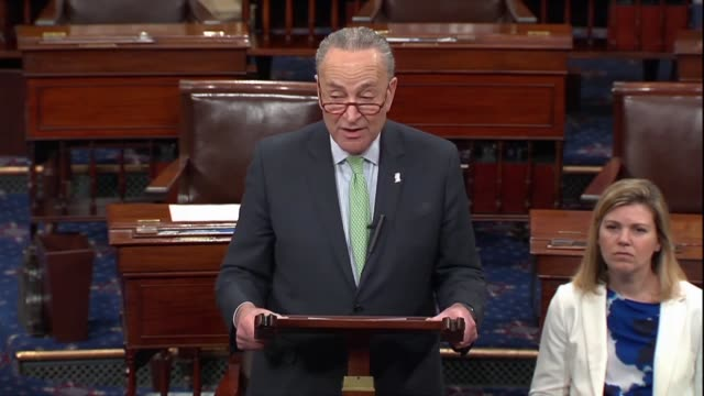 Senate Democratic leader Chuck Schumer says after Huawei CFO Meng Wanzhou was arrested in Canada for extradition to the United States was a reminder...