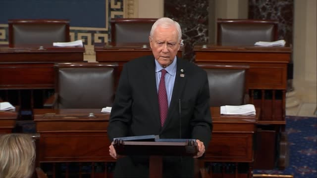 senate finance committee chairman orrin hatch of utah says after listening to democrats disputes anyone who believes they would be able to work... - socialism stock videos & royalty-free footage