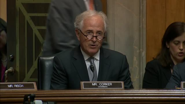 Senate Foreign Relations Committee Chairman Bob Corker of Tennessee says at a hearing he had faith in the leadership of Secretary of State Mike...