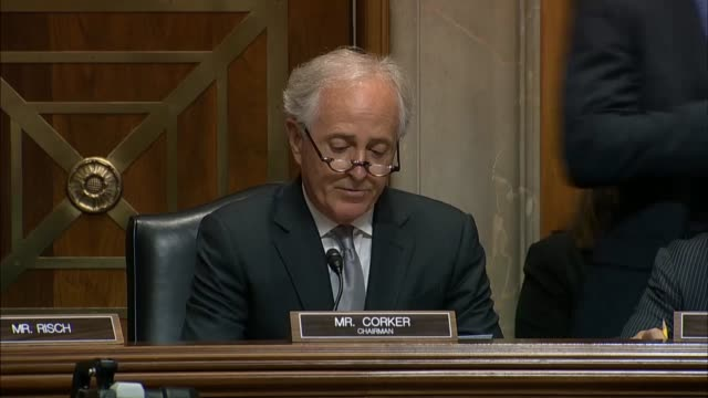 Senate Foreign Relations Committee Chairman Bob Corker says President Donald Trump's meeting with North Korean Kim Jong Un a ruthless and murderous...