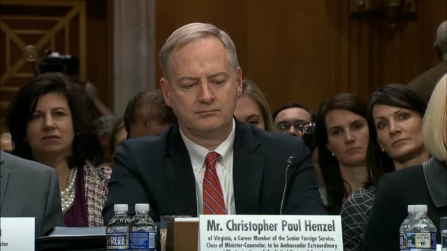 Senate Foreign Relations Committee Chairman Bob Corker says the nomination hearing with Christopher Henzel nominated for US Ambassador to Yemen that...