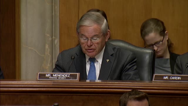 Senate Foreign Relations Committee ranking Democrat Bob Menendez of New Jersey says the nomination of Mike Pompeo for Secretary of State comes after...
