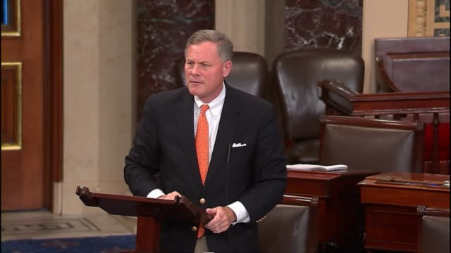 senate intelligence chairman richard burr describes bulk data collection by the national security agency - national security agency usa stock videos and b-roll footage
