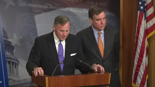 Senate Intelligence Committee Chairman Richard Burr of Carolina outlines the efforts undertaken by his committee since January 2017 including...
