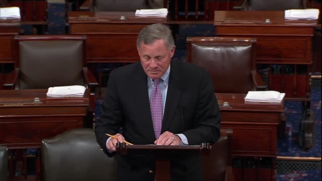 senate intelligence committee chairman richard burr of north carolina says cia director nominee gina haspel is intimately familiar with events facing... - senator stock videos & royalty-free footage