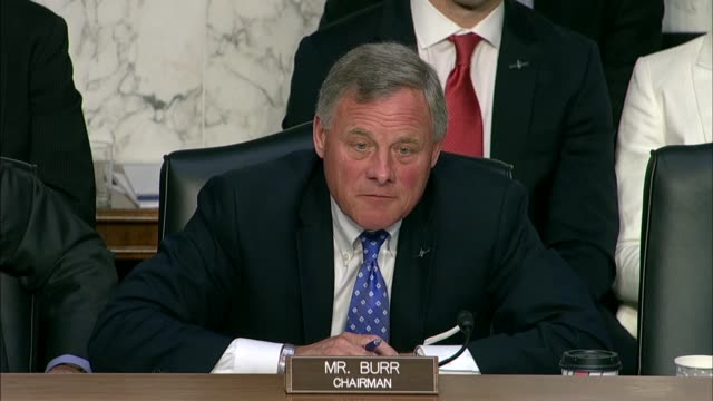 Senate Intelligence Committee Chairman Richard Burr surmises the nomination hearing of Gina Haspel to be CIA Director describing the imagery of the...