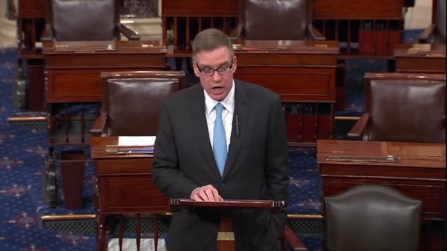 senate intelligence committee vice chair mark warner of virginia says to opponents of gina haspel based on her background with enhanced interrogation... - interrogation stock videos & royalty-free footage