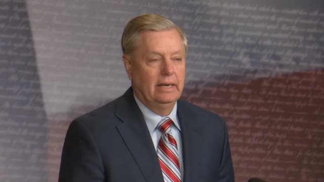 senate judiciary committee chairman lindsey graham of south carolina says a day after attorney general william barr released a summary of the report... - attorney general stock videos & royalty-free footage