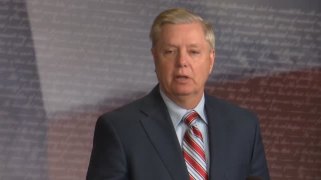 senate judiciary committee chairman lindsey graham of south carolina asks a day after attorney general william barr released a summary of the report... - asking stock videos & royalty-free footage
