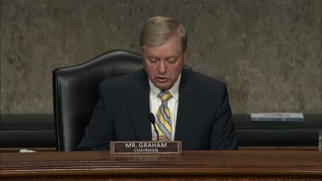 senate judiciary committee chairman lindsey graham of south carolina says from his point of view former deputy attorney general sally yates had... - attorney general stock videos & royalty-free footage