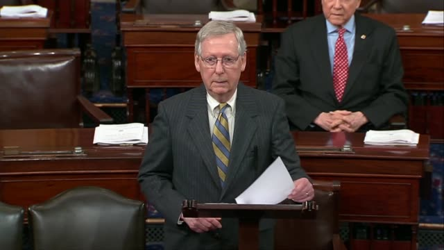 Senate Majority Leader Mitch McConnell of Kentucky argues hours before a potential shutdown that incredibly shortterm government funding extensions...