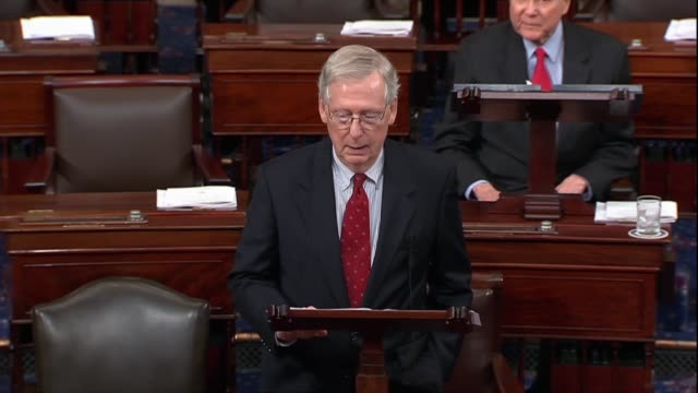 Senate Majority Leader Mitch McConnell of Kentucky says after a second sex abuse allegations made against Supreme Court nominee Judge Brett Kavanaugh...