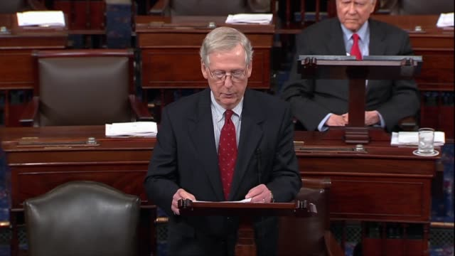 Senate Majority Leader Mitch McConnell of Kentucky says after a second sex abuse allegation made against Supreme Court nominee Judge Brett Kavanaugh...