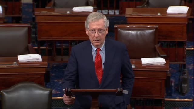 Senate Majority Leader Mitch McConnell of Kentucky says hours before President Donald Trump announced a nominee to the Supreme Court that decades...