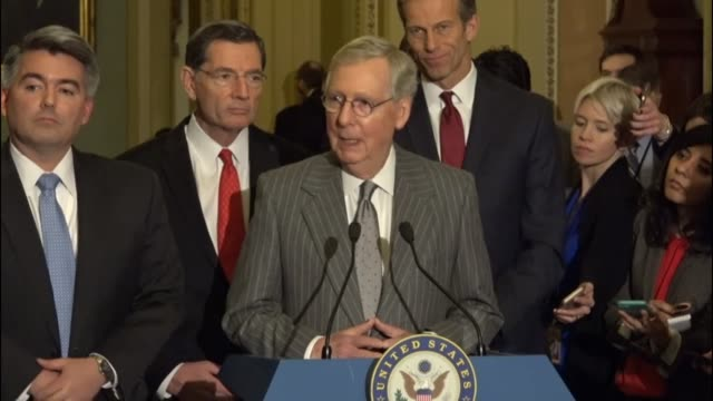 Senate Majority Leader Mitch McConnell of Kentucky says that Republicans will be working with nominees to the Trump administration who will be key...