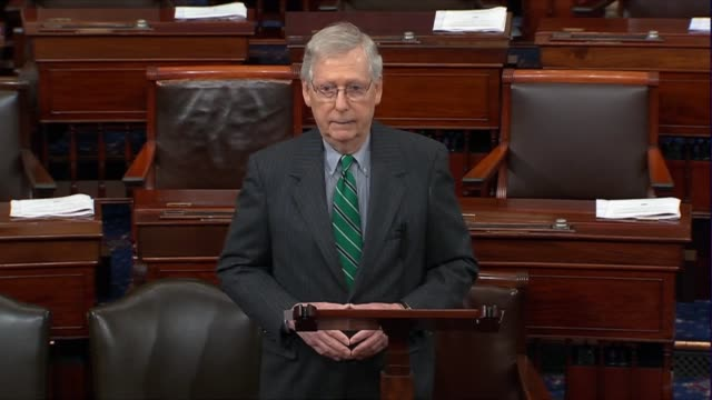 Senate Majority Leader Mitch McConnell of Kentucky says there is no question of serious challenges from terrorist groups Al Qaeda and ISIS in Syria...