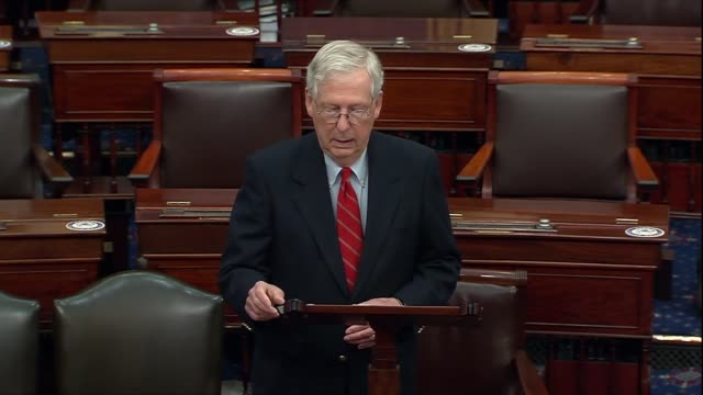 senate majority leader mitch mcconnell of kentucky says two days after the 2020 presidential election was called for joe biden not to have any... - inch stock videos & royalty-free footage