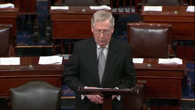 Senate Majority Leader Mitch McConnell says of a war powers resolution to pull the United States out of Yemen that supporters goal is to end support...