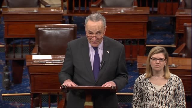 Senate Minority Leader Charles Schumer of New York says a resolution that asks whether America should take a tough line on Russian President Vladimir...