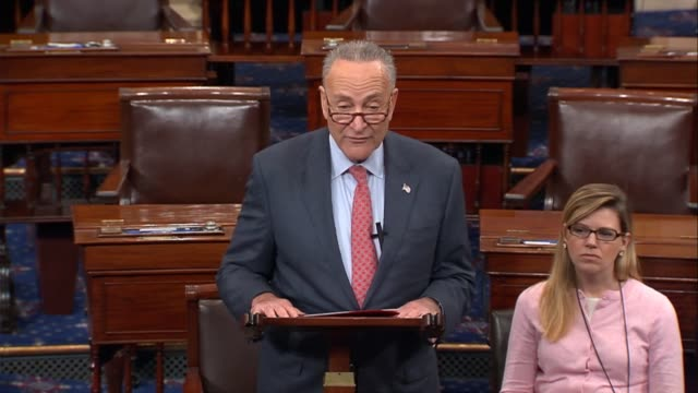 Senate Minority Leader Charles Schumer of New York says on opening a Senate session that reconciliation instructions in the Republican budget...