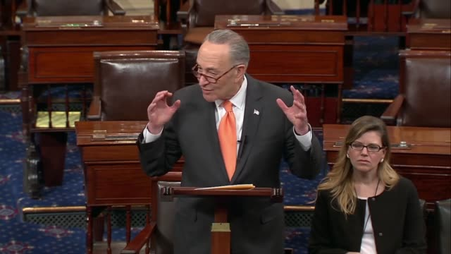 Senate Minority Leader Charles Schumer of New York says that security experts have testified for decades that border security is broader than a...