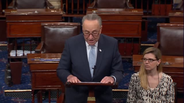 Senate Minority Leader Charles Schumer of New York says that the American people have heard many arguments about the merits and shortcomings of Judge...