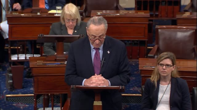Senate Minority Leader Charles Schumer says minutes after health care reform bill draft was released by Republicans that it had been shrouded in...