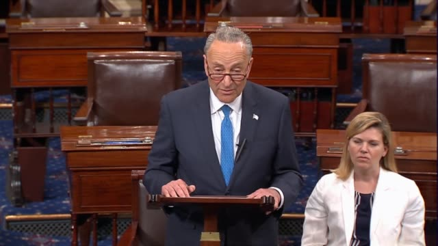 Senate Minority Leader Charles Schumer says special counsel Robert Mueller had already secured indictments and guilty pleas from the Trump campaign...