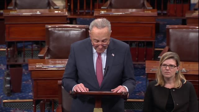 Senate Minority Leader Chuck Schumer of Kentucky says after a second sex abuse allegation made against Supreme Court nominee Judge Brett Kavanaugh...