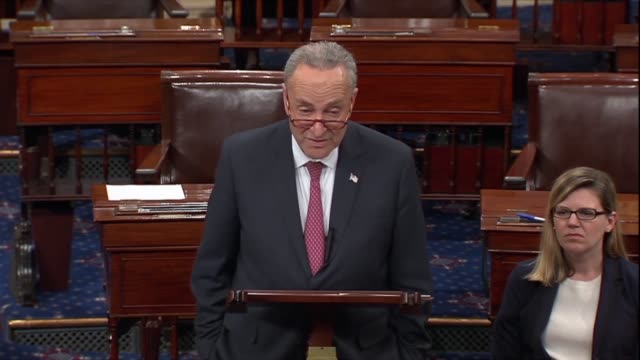 senate minority leader chuck schumer of new york says as a result of republican sabotage of the affordable care act healthcare premiums outofpocket... - prescription drug costs stock videos & royalty-free footage