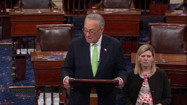 Senate Minority Leader Chuck Schumer of New York says days after a meeting between Donald Trump and Vladimir Putin in Helsinki that the Senate must...