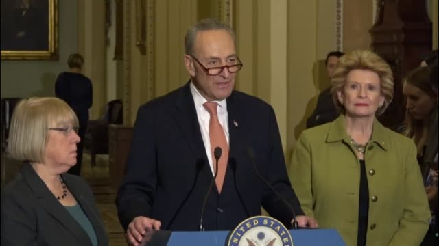 Senate Minority Leader Chuck Schumer of New York says Democrats believe there needs to be a full investigation of Congressman Tom Price before a vote...