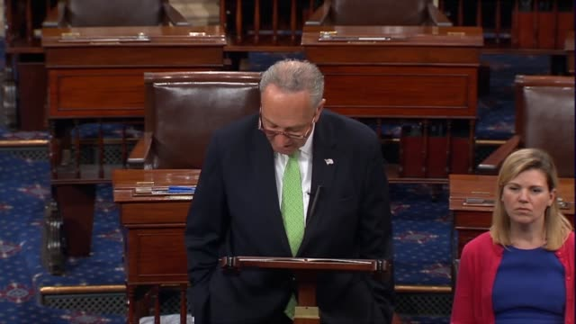 Senate Minority Leader Chuck Schumer of New York says hours before President Donald Trump announced a nominee to the Supreme Court that 81 years of...