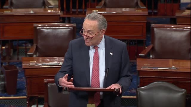 senate minority leader chuck schumer of new york says president donald trump had tried to be conciliatory with china letting zte off the hook to gain... - intellectual property stock videos and b-roll footage