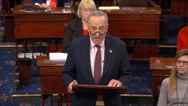 Senate Minority Leader Chuck Schumer of New York says that in a stunning deception with the reckless ramrodding of changes to the tax cuts and jobs...