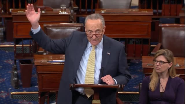 Senate Minority Leader Chuck Schumer of New York says that morning Trump administration Chief Economic Advisor Gary Cohn suggested that tax reform...