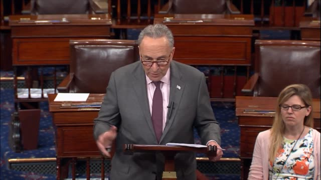 Senate Minority Leader Chuck Schumer of New York says that Senate Republicans continue to work on a health care bill behind closed doors issuing a...