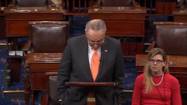 Senate Minority Leader Chuck Schumer of New York says that the Republican tax plan would exacerbate income inequality already spiraling out of...
