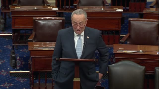 senate minority leader chuck schumer of new york says two days after the 2020 presidential election was called for joe biden that the country... - chaos stock videos & royalty-free footage