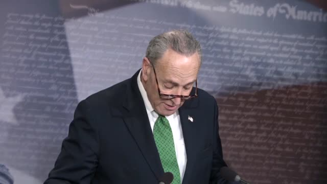 Senate Minority Leader Chuck Schumer says hours after the Tax Cuts and Jobs Act passed that Republicans headed to the White House for backslapping...