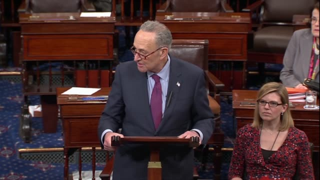 Senate Minority Leader Chuck Schumer says the Senate had waited a long time and worked very hard on the chance to vote on a bill to protect dreamers...