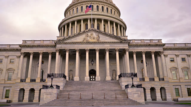 senate. washington d.c. - us senat stock-videos und b-roll-filmmaterial