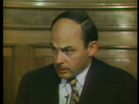 senator adlai stevenson iii discusses the role of the executive branch. - business or economy or employment and labor or financial market or finance or agriculture stock videos & royalty-free footage