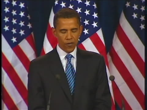 us senator barack obama urges the immediate withdrawal of us troops in iraq - (war or terrorism or election or government or illness or news event or speech or politics or politician or conflict or military or extreme weather or business or economy) and not usa stock videos & royalty-free footage