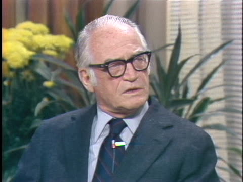 senator barry goldwater discusses senator ted kennedy's candidacy for president in 1980 and why he won't win. - socialism stock videos & royalty-free footage