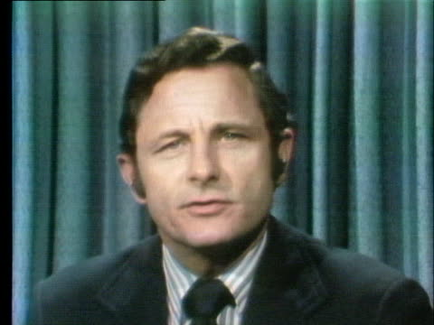 senator birch bayh comments on the firing of archibald cox and the need to hire a new special prosecutor. - new hire stock videos & royalty-free footage
