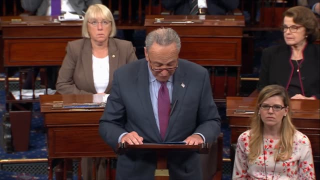 Senator Chuck Schumer says after a day of debate on a budget reconciliation vehicle for healthcare repeal and replacement that both a repeal and a...